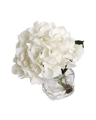 New Growth Designs White Hydrangea, Stem Cut
