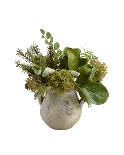 New Growth Designs Woodland Greenery Bouquet