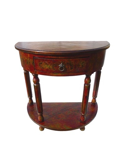 New World Trading Ricardo Console, Red