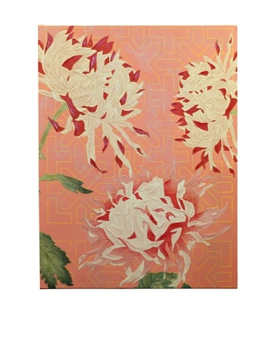 New York Botanical Garden Romantic Floral Giclée on Canvas