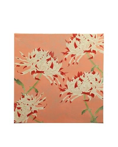 "New York Botanical Garden ""Fun Flowers"" Giclée on Canvas"