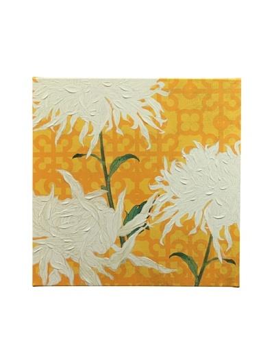 New York Botanical Garden Fun Flowers Giclée on Canvas