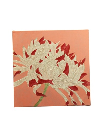 New York Botanical Garden Fun Flowers Giclée on Canvas