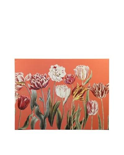 New York Botanical Garden Tulip Study Giclée on Canvas