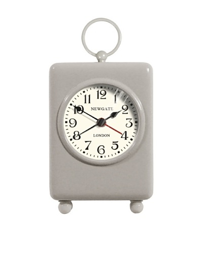 Newgate Carriage Mini Alarm Clock, Grey