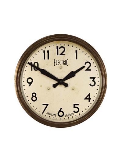 Newgate 50's Electric Clock, Brown