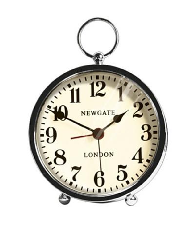 Newgate The Wesley Mini Alarm Clock, Chrome