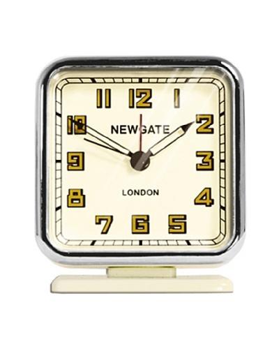 Newgate The Strand Mini Alarm Clock, Cream