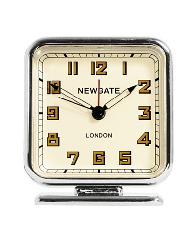 Newgate The Strand Mini Alarm Clock, Chrome