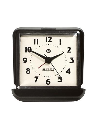 Newgate Nixon Alarm Clock, Black