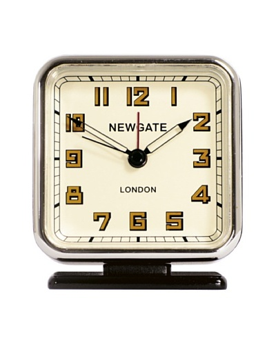 Newgate The Strand Mini Alarm Clock, Black