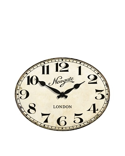 Newgate Poets Clock, Cream