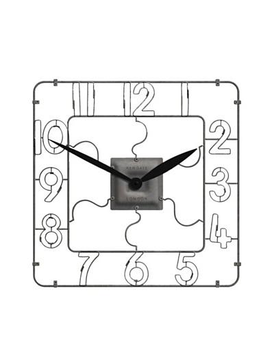 Newgate Newcastle Wall Clock, Weathered Metal