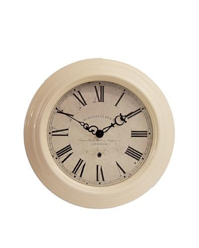 Newgate Small Gallery Clock, Cream