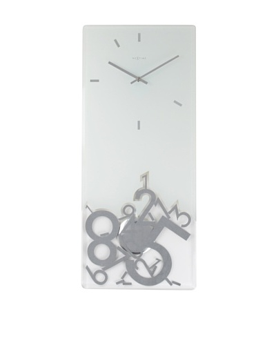 NeXtime Dropped Rectangle Clock