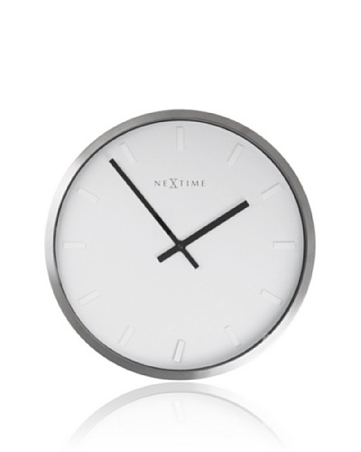 NeXtime Paniki Stripe Wall Clock