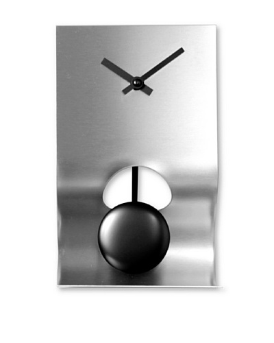 NeXtime Bend Table Clock [Silver]