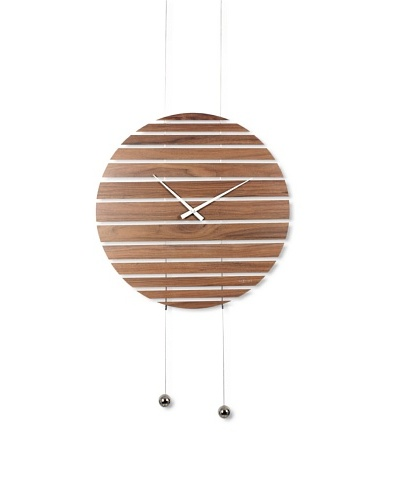 NeXtime Wooden Room Divider Clock [Wood]