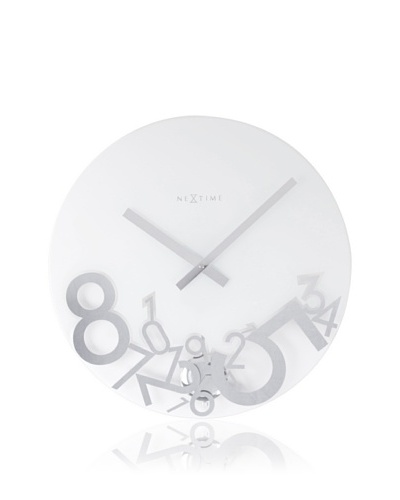 NeXtime Dropped Wall Clock