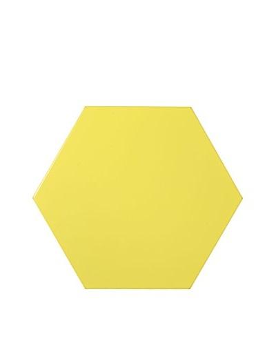 Nine6 Design Magnetic Dry Erasable Wall Panel, Yellow
