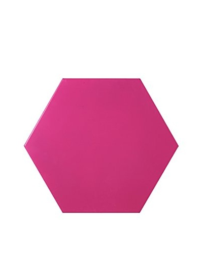 Nine6 Design Magnetic Dry Erasable Wall Panel, Magenta