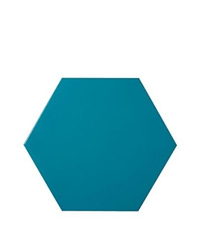 Nine6 Design Magnetic Dry Erasable Wall Panel, Turquoise