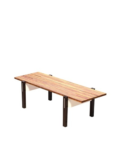 nine6 Design Neopolitan Coffee Table, Bamboo/White