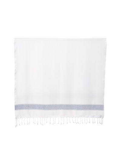 Nine Space Natural Cotton Fouta Towel, Blue