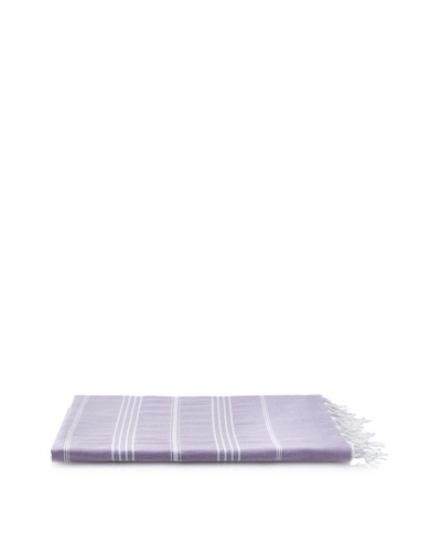 Nine Space Ayrika Collection Stripes Fouta Towel, Purple