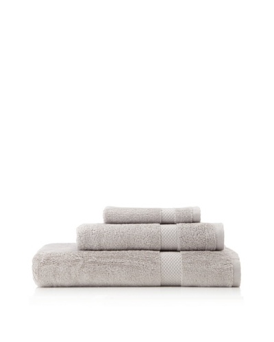 Nine Space Organic Cotton Bath Towel Set, Light Grey