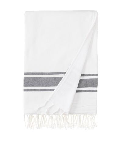 Nine Space Ocean Turkish Terry Fouta Towel [Black]