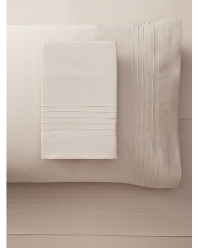 Nine Space Organic Cotton Pleated Sheet Set