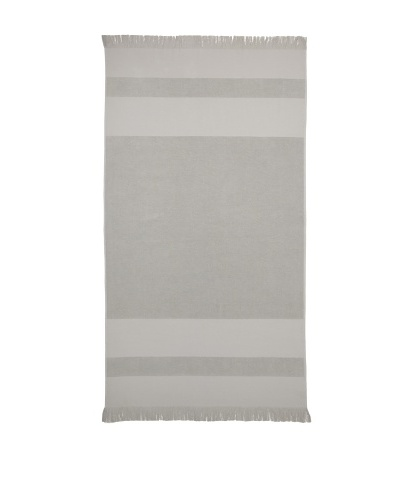 Nine Space Beach Collection Solid Terry Fouta Towel [Grey]
