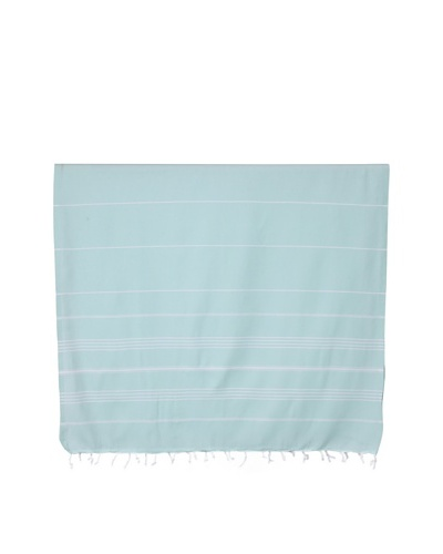 Nine Space Ayrika Collection Stripes Fouta Towel, Aqua