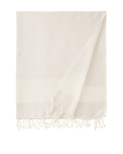 Nine Space Sultan Throw, Beige