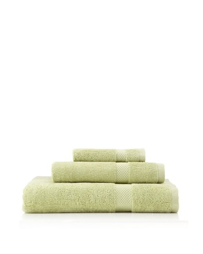 Nine Space Organic Cotton Bath Towel Set, Light Green