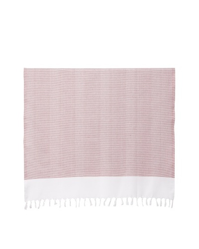 Nine Space Ayrika Collection Thin Stripe Fouta Towel [Red]