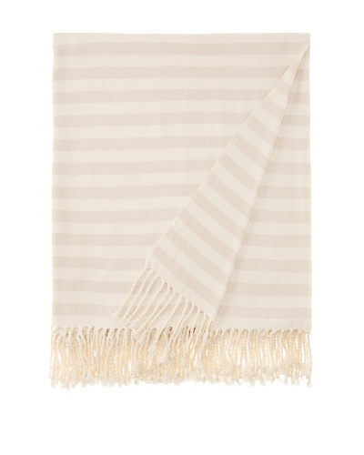 Nine Space Viscose from Bamboo Striped Throw Blanket