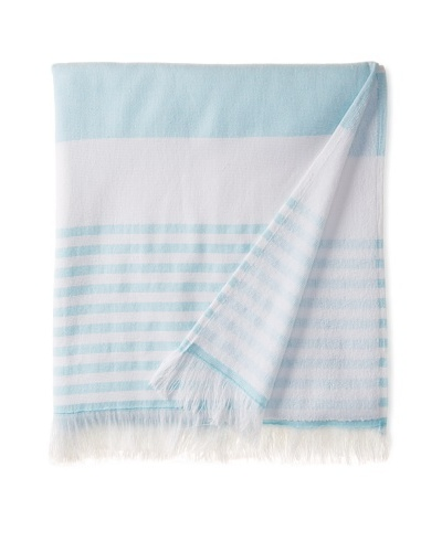 Nine Space Carmel Stripe Beach Towel, Blue