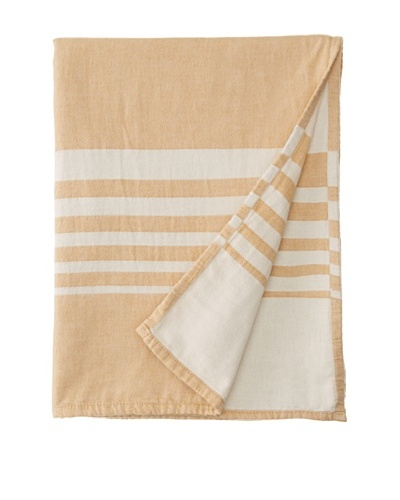 Nine Space Bali Throw, Gold