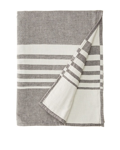 Nine Space Bali Throw, Slate