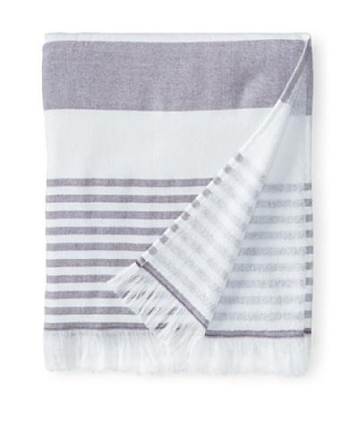 Nine Space Carmel Stripe Beach Towel, Lavender
