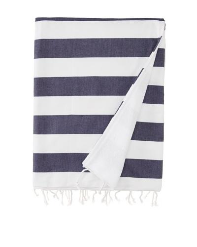 Nine Space Ayrika Beach Collection Wide Stripe Terry Fouta Towel