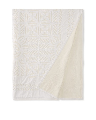 Nomadic Thread Society Applique Bed Cover, Tribal, KingAs You See