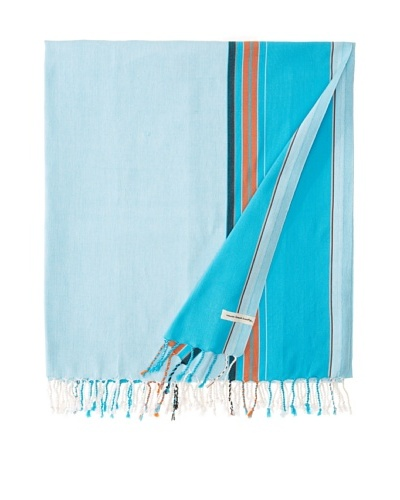 Nomadic Thread Society East African Throw, Sky/Blue, 90x60As You See
