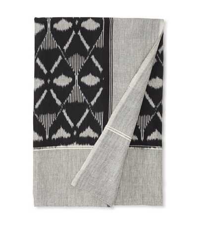 Nomadic Thread Society Single Ikat Bed Cover