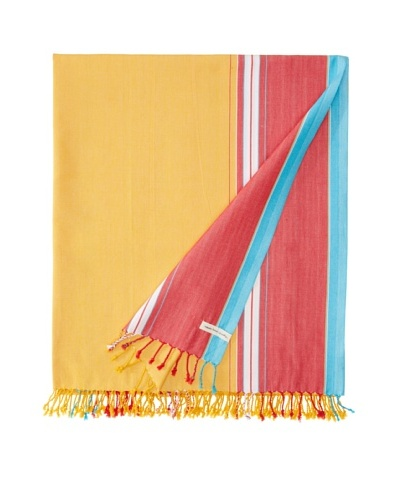 Nomadic Thread Society East African Throw, Sunrise, 90x60As You See