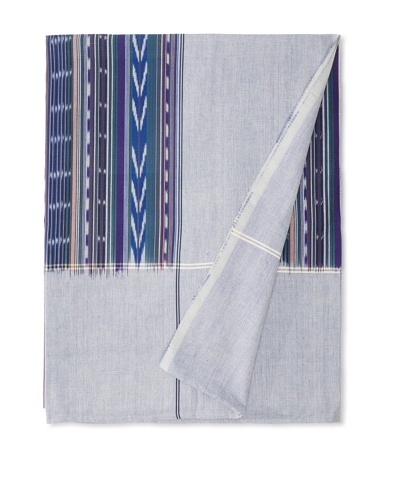 Nomadic Thread Society Double Ikat Bed Cover