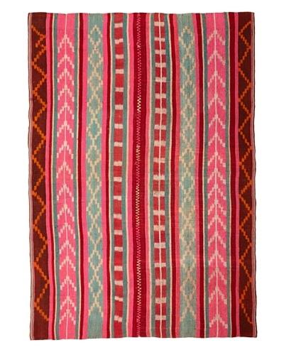 Nomadic Thread Society Market Peruvian Rug, Multi, 4' 2 x 5' 3