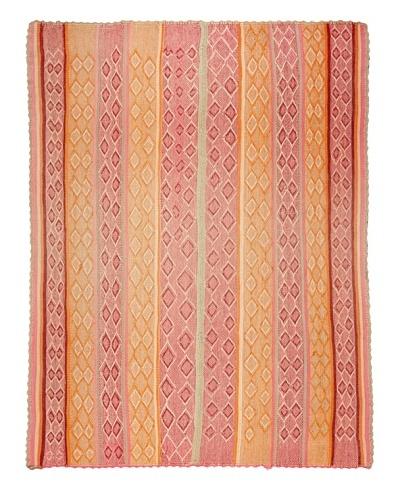 Nomadic Thread Society Market Peruvian Rug, Multi, 5' x 6' 1